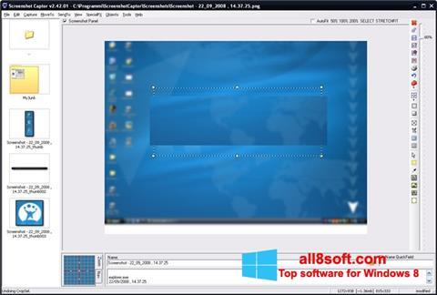 Snimak zaslona ScreenShot Windows 8