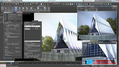 Snimak zaslona 3ds Max Windows 8
