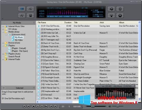 Snimak zaslona JetAudio Windows 8