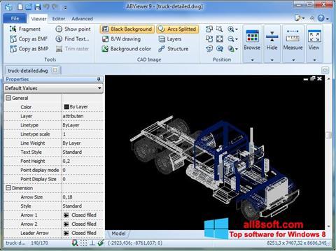 Snimak zaslona ABViewer Windows 8