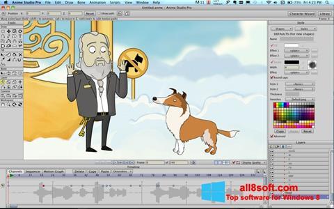 Snimak zaslona Anime Studio Windows 8