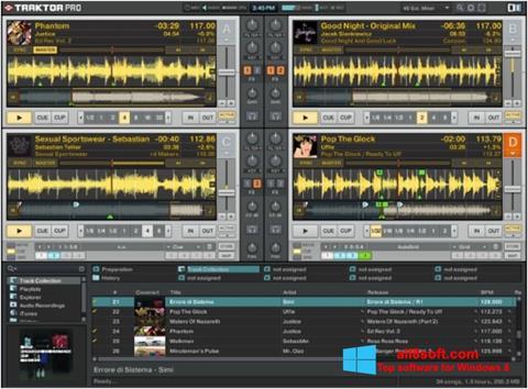 Snimak zaslona Traktor PRO Windows 8