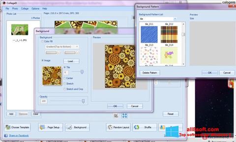 Snimak zaslona CollageIt Windows 8