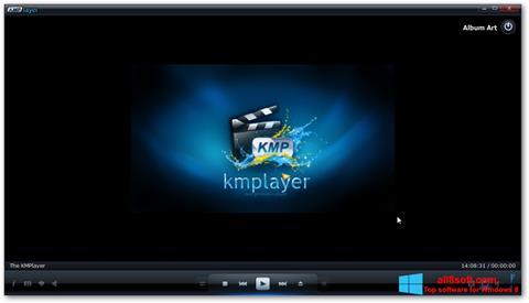 Snimak zaslona KMPlayer Windows 8