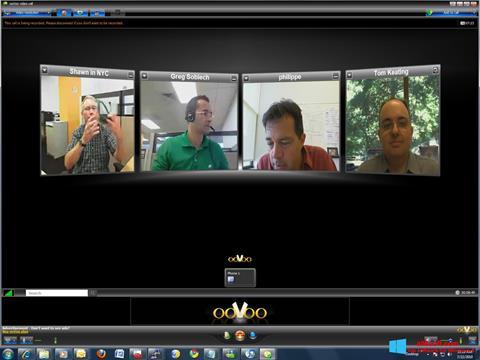 Snimak zaslona ooVoo Windows 8