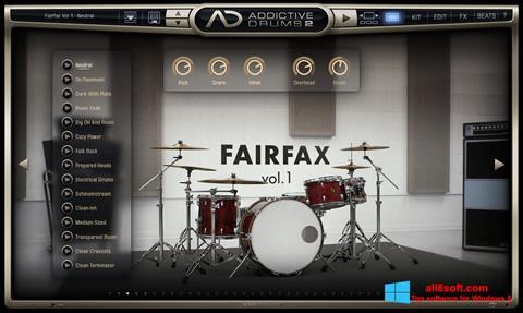Snimak zaslona Addictive Drums Windows 8