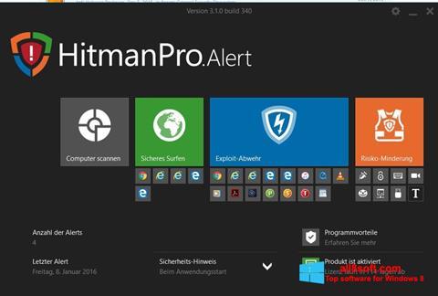 Snimak zaslona HitmanPro Windows 8