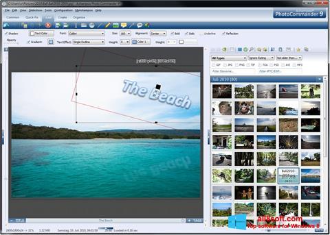 Snimak zaslona Ashampoo Photo Commander Windows 8