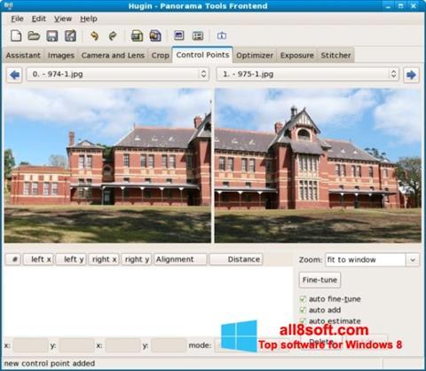 Snimak zaslona Hugin Windows 8