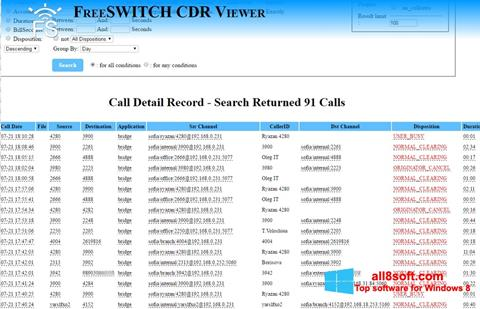 Snimak zaslona CDR Viewer Windows 8