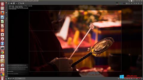 Snimak zaslona RawTherapee Windows 8