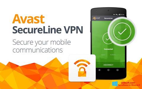 Snimak zaslona Avast SecureLine VPN Windows 8