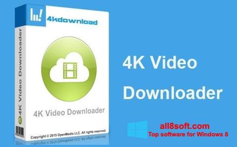 Snimak zaslona 4K Video Downloader Windows 8