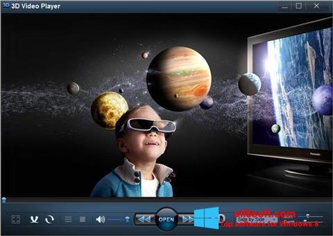 Snimak zaslona 3D Video Player Windows 8