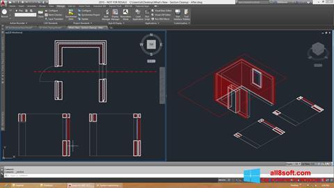 Snimak zaslona AutoCAD Architecture Windows 8