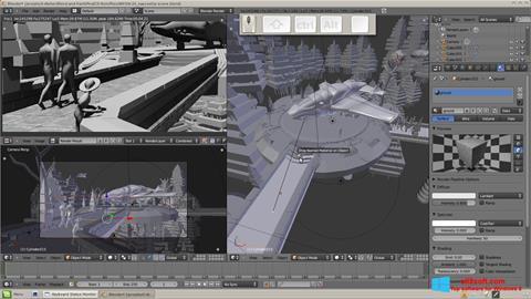 Snimak zaslona Blender Windows 8