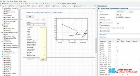 Snimak zaslona AnyLogic Windows 8