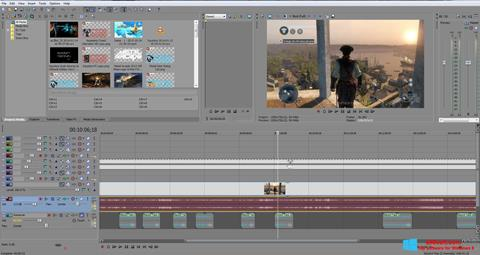 Snimak zaslona Sony Vegas Pro Windows 8