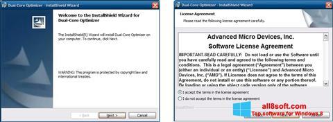 Snimak zaslona AMD Dual Core Optimizer Windows 8