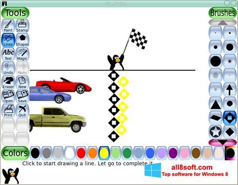 Snimak zaslona Tux Paint Windows 8