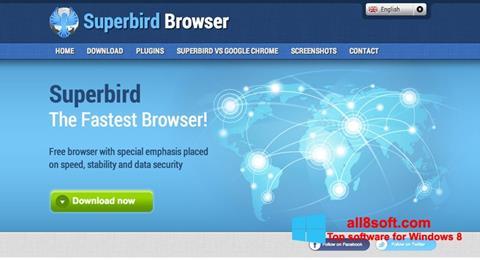 Snimak zaslona Superbird Windows 8