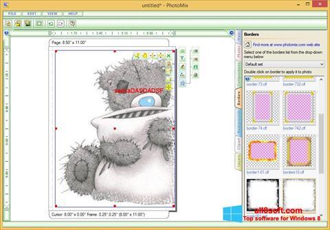 Snimak zaslona PhotoMix Collage Windows 8