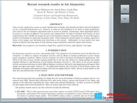 Snimak zaslona Doc Viewer Windows 8