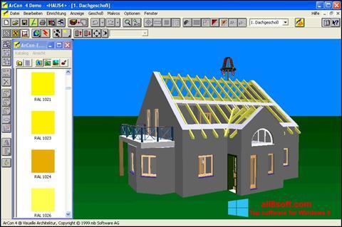 Snimak zaslona Arcon Windows 8