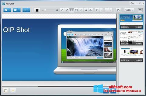 Snimak zaslona QIP Windows 8