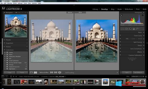 Snimak zaslona Adobe Photoshop Lightroom Windows 8