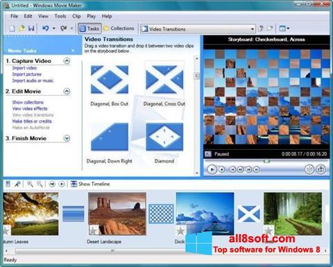 Snimak zaslona Windows Movie Maker Windows 8