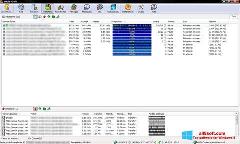Snimak zaslona eMule Windows 8
