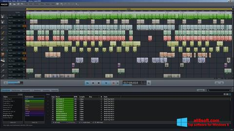 Snimak zaslona MAGIX Music Maker Windows 8