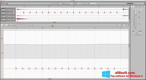 Snimak zaslona Melodyne Windows 8