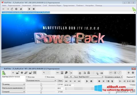 Snimak zaslona BluffTitler Windows 8