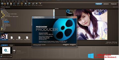 Snimak zaslona ProShow Producer Windows 8