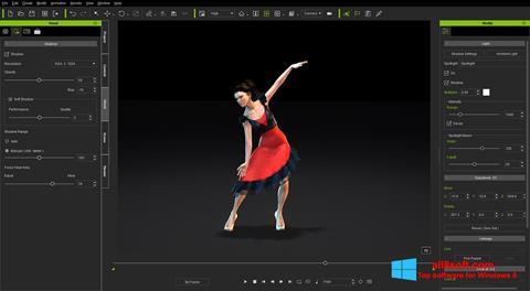 Snimak zaslona iClone Windows 8
