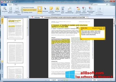 Snimak zaslona Nitro PDF Reader Windows 8