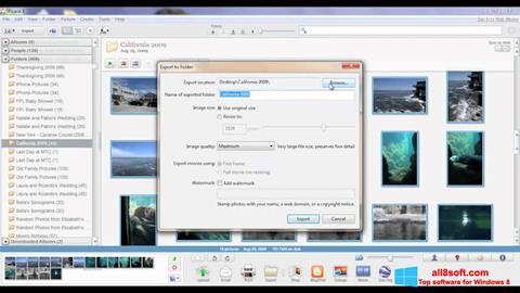 Snimak zaslona Picasa Windows 8