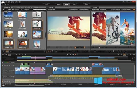 Snimak zaslona Pinnacle Studio Windows 8