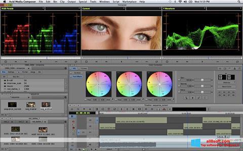 Snimak zaslona Avid Media Composer Windows 8