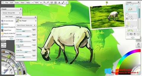 Snimak zaslona ArtRage Windows 8