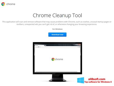 Snimak zaslona Chrome Cleanup Tool Windows 8
