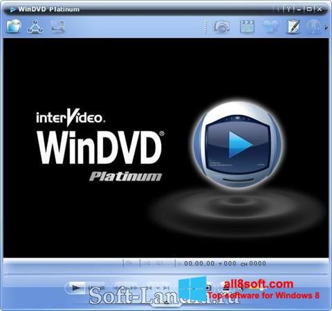 Snimak zaslona WinDVD Windows 8