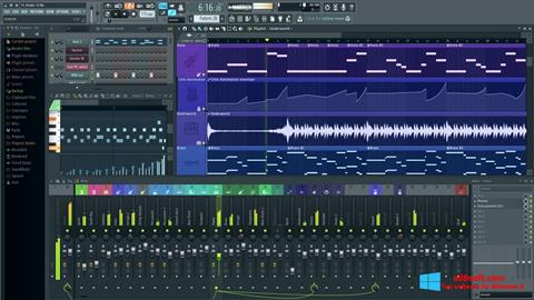 Snimak zaslona FL Studio Windows 8