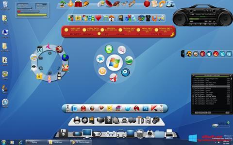 Snimak zaslona ObjectDock Windows 8