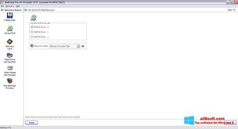 Snimak zaslona BadCopy Pro Windows 8