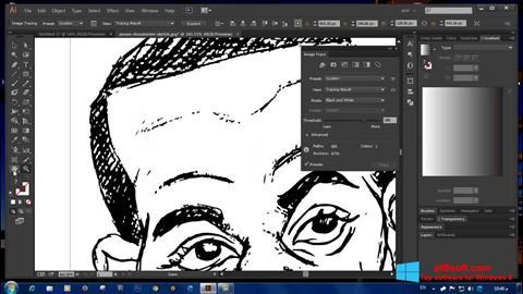 Snimak zaslona Adobe Illustrator Windows 8